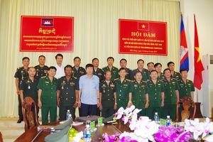 BĐBP Đắk Nông hội đàm về quản lý, bảo vệ biên giới với Tiểu khu Quân sự tỉnh Mondulkiri