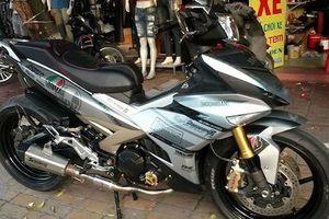 Dân chơi Thái Bình độ 'chân khủng' cho Yamaha Exciter 150