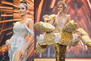 Mặc nguyên 'trái sầu riêng', người đẹp Thái giành giải Trang phục dân tộc đẹp nhất
