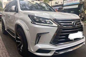 Xe sang Lexus LX570 giá 8 tỷ 'độ khủng' tại Sài Gòn