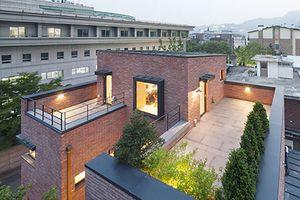 Ấn tượng với ngôi nhà gạch mang phong cách tối giản