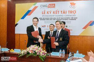 Tập đoàn CMG.ASIA tài trợ 1 tỷ đồng cho Đoàn Thể thao Việt Nam tham dự SEA Games 29
