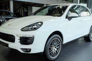 'Soi' phiên bản đặc biệt Porsche Cayenne Platinum Edition giá 5,3 tỷ đồng tại Việt Nam