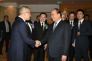 Nhiều hoạt động tiếp xúc giới đầu tư hàng đầu Thái Lan của Thủ tướng