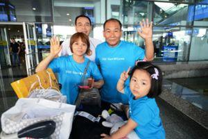 Cô dâu Việt ở Hàn dạy con về văn hóa Việt qua chuyến về thăm quê ngoại