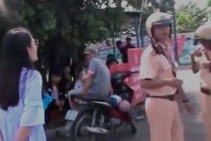 Bị xử phạt vì lái xe quá tốc độ, diễn viên Ngọc Lan to tiếng với CSGT