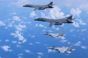 Nhật Bản, Mỹ diễn tập trên không ở Biển Hoa Đông