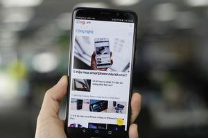 Hình ảnh đầu tiên về smartphone 4 camera của Huawei tại Việt Nam