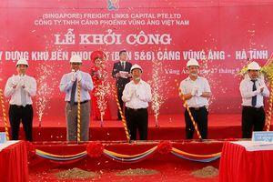 Hà Tĩnh: Cảng Vũng Áng khởi công xây dựng 2 bến mới