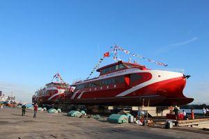 Hạ thủy 2 tàu cao tốc phục vụ tuyến Rạch Giá - Phú Quốc