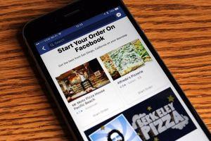 Facebook cho phép gọi món ngay trong ứng dụng