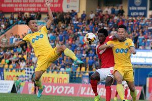CLB Thanh Hóa thua đội Quảng Ninh 3-4 vì hàng phòng ngự mắc sai lầm
