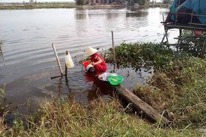 Thừa Thiên Huế: Thiếu nước sạch, hàng trăm hộ dân dùng nước sông ô nhiễm