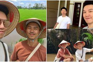 Tài tử TVB đón sinh nhật ở Việt Nam cùng người tình đồng giới