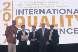 Vinh danh 4 doanh nghiệp VN đạt Giải thưởng Chất lượng Quốc tế Châu Á - Thái Bình Dương 2017