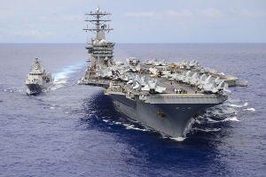 Động thái phô trương lực lượng hiếm của Mỹ ở Thái Bình Dương