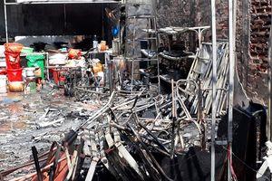 Thái Bình: Cháy nhà hàng, thiệt hại ước tính hàng chục triệu đồng