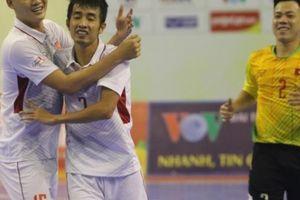 Thắng Myanmar 'ba sao', ĐT fusal Việt Nam 'né' đối thủ số 1 ĐNÁ