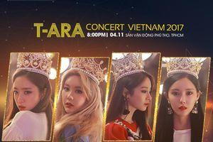 T-ARA đến Việt Nam và biểu diễn trong 'T-ARA Concert in Vietnam 2017'
