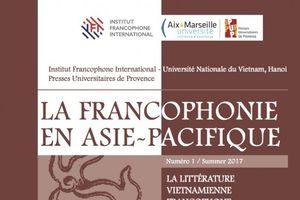 Ra mắt số đầu tiên ấn phẩm khoa học 'Cộng đồng Pháp ngữ Châu Á - Thái Bình Dương'