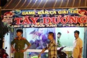 Tạm giữ đối tượng truy sát con nợ trong tiệm game bắn cá