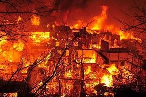 Lâm Đồng: Cháy nhà, 3 bố con tử vong thương tâm