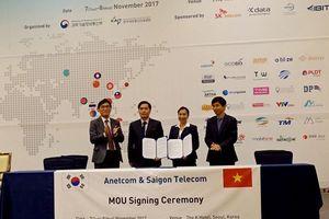 SaigonTel hợp tác với KDigital và Anetcom HQ