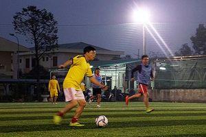 Giao lưu bóng đá chào mừng Kỷ niệm 56 năm thành lập Báo Nghệ An
