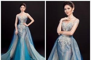 Cận cảnh trang phục dạ hội chính thức của Thùy Dung tại Hoa hậu Quốc Tế 2017
