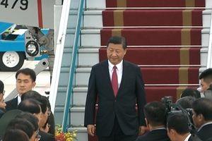 Máy bay chở Chủ tịch Tập Cận Bình đã tới Đà Nẵng