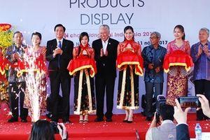 Khai mạc hội chợ thương mại Indonesia tại Tuần lễ Cấp cao APEC