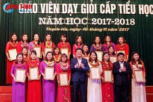 Thạch Hà tuyên dương 119 giáo viên dạy giỏi cấp tiểu học