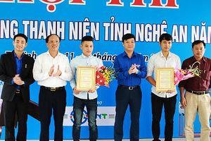 Nghệ An: Tôn vinh 25 thợ giỏi trong thanh niên