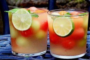 Món nước detox từ các loại dưa