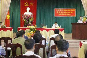 Cử tri huyện Thường Tín được giải đáp thỏa đáng kiến nghị dân sinh