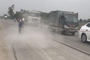 Nghệ An: Dân khổ vì nhà thầu sửa QL46 lơ là đảm bảo ATGT