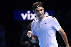 Roger Federer sớm giành vé vào bán kết giải ATP Finals 2017
