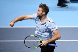 Jack Sock bất ngờ giành vé vào bán kết ATP Finals