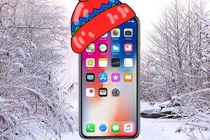 iPhone X đã sử dụng được dưới trời lạnh nhờ bản cập nhật iOS mới