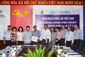 Cty Điện lực Quảng Ngãi đã khôi phục cấp điện 100% cho nhân dân