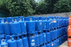 Thêm một nhà máy chiếm dụng vỏ bình gas trái phép ở Hòa Bình