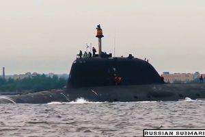 Ra mắt tàu ngầm hạt nhân mới, tham vọng trên biển của Nga ngày càng lớn