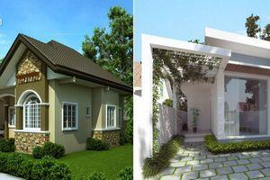 Những mẫu thiết kế nhà 1 tầng 3 phòng ngủ 'đẹp miễn chê' với chi phí thấp