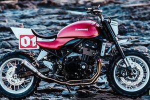 Kawasaki Z900RS phong cách tracker đẹp mê mẩn