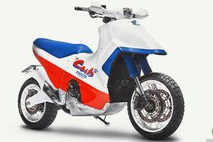 'Hô biến' Honda X-ADV thành mô hình Cub Cubed