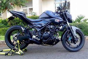 Dân chơi 'biến hình' Yamaha MT-25 thành siêu môtô