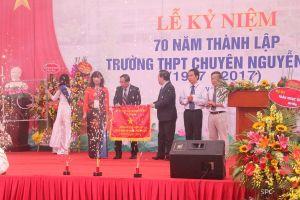 70 năm truyền thống trường THPT chuyên Nguyễn Huệ
