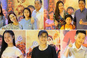 Thành Lộc và các gia đình sao cảm động khi xem phim hoạt hình 'Coco' của Disney - Pixar