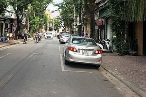 Phố Nguyễn Bỉnh Khiêm 'vắng' cảnh tắc đường