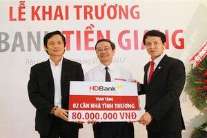 Khai trương chi nhánh mới, HDBank đạt 240 điểm giao dịch trên toàn quốc